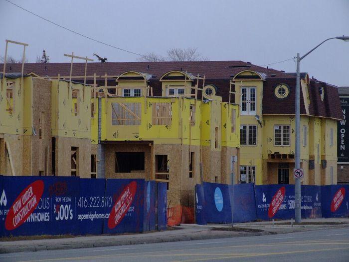 Как и из чего строят в Канаде Канада, Строительство, Таунхаус, Длиннопост