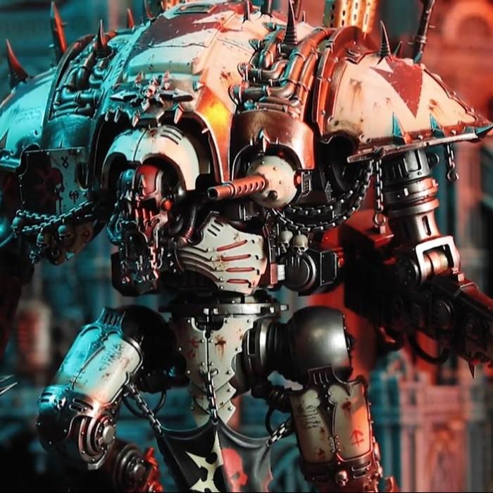 Warhammer Fest 2019 Release: Chaos Knights. Warhammer 40k, Chaos Knight, Wh miniatures, Длиннопост