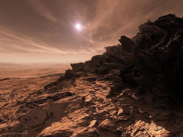 А вы бы хотели когда нибудь отправиться на Марс? Марс, Длиннопост, Фотография, Планета