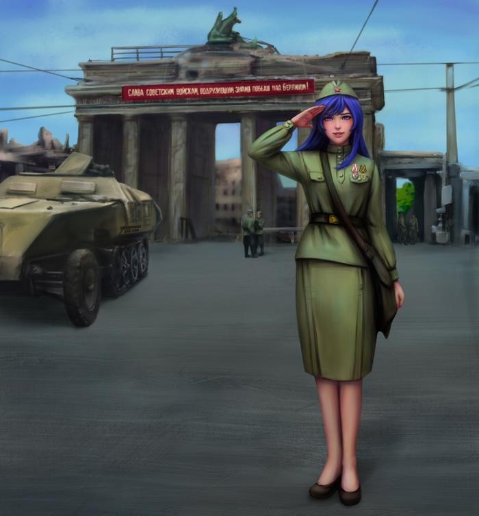 Слава Советским войскам!