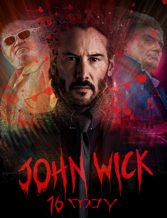 Джон Уик вернется на киноэкраны уже 16 мая Джон Уик, Фильмы, Новинки кино, Боевики, Киану Ривз, Актеры, Видео, Длиннопост, Джон уик 3