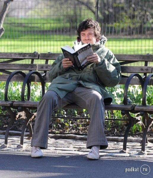 Орландо Блум как внутреннее состояние Внутреннее состояние, Орландо Блум, Книги, Длиннопост, Достоевский, Чтение