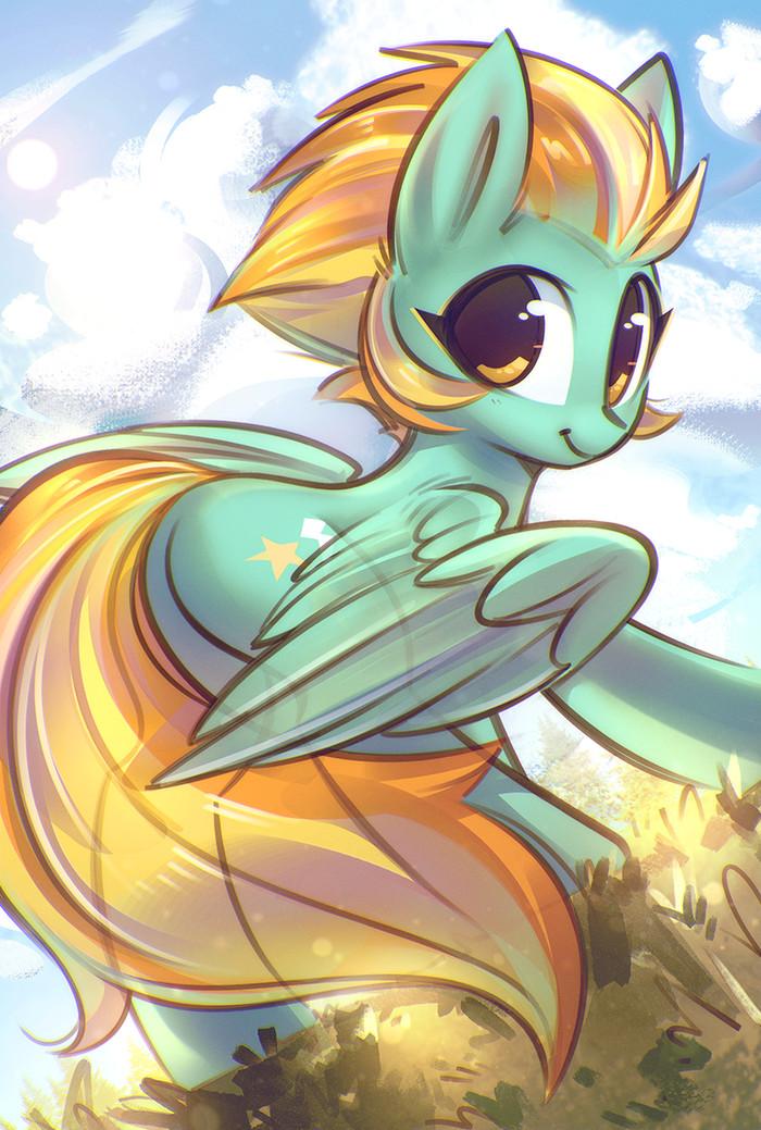 Lightning Dust My Little Pony, Ponyart, Lightning Dust, Mirroredsea