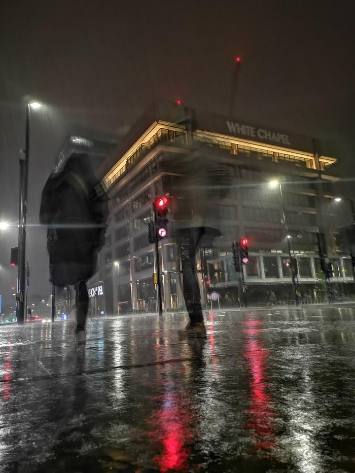 Призраки полуночного Лондона Фотография, Лондон, Ночь, Дождь