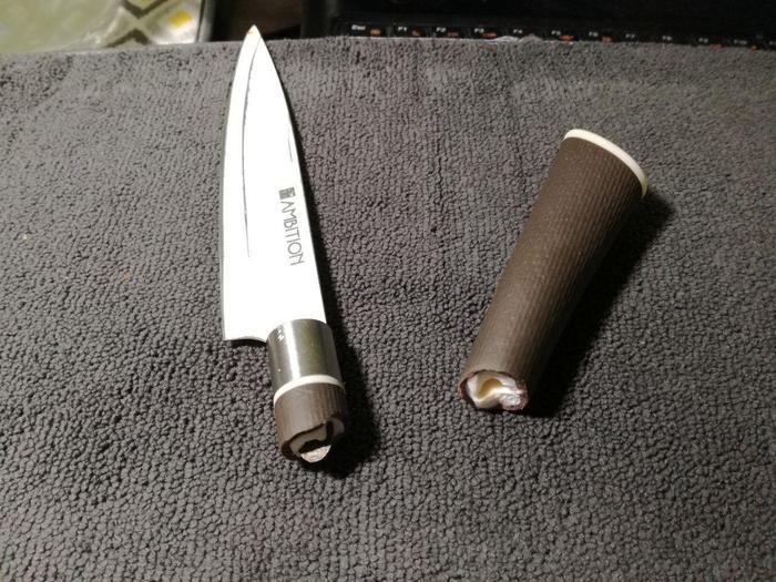 Насколько я богат, что купил такое? Нож, Некачественный продукт, Пукано эль бомбито