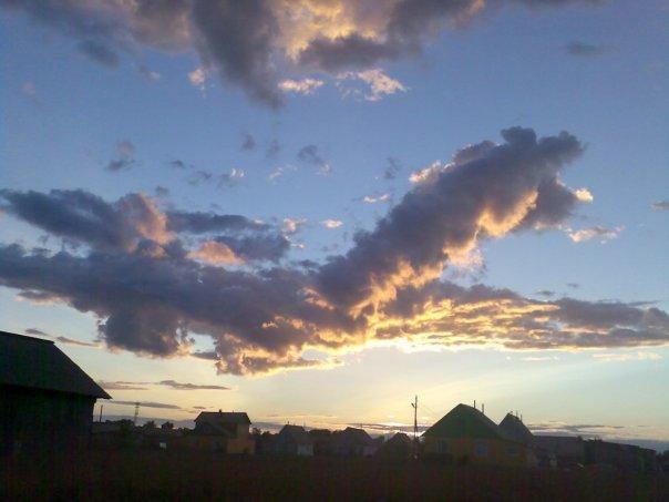 Облако - самолет