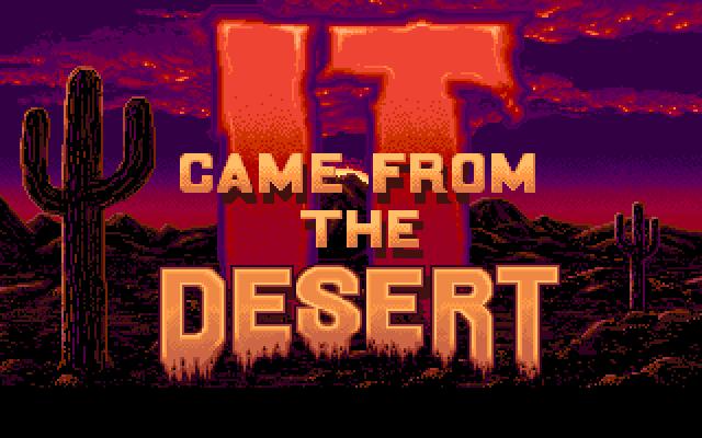 It Came from the Desert 1989, Прохождение, Amiga, Ретро-Игры, Компьютерные игры, Игры, Своя атмосфера, Длиннопост