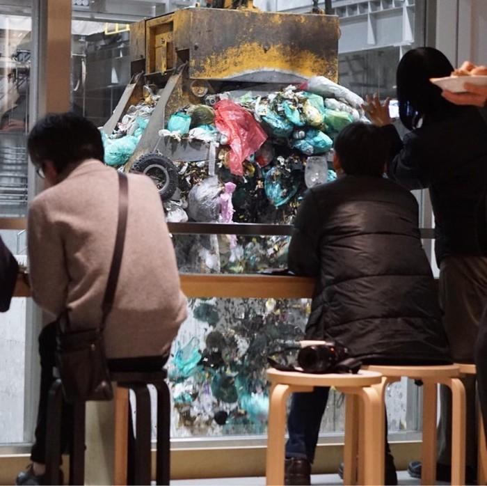 Мусорное кафе Япония, Мусор, Экология, Кафе, Странности, Длиннопост