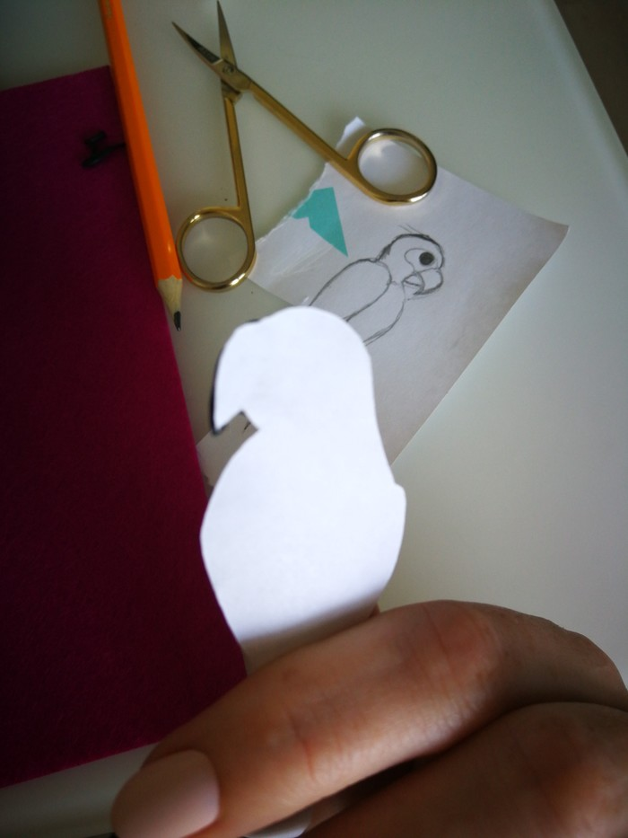 Как я делаю клювики для брошек Рукоделие с процессом, Брошь, Длиннопост