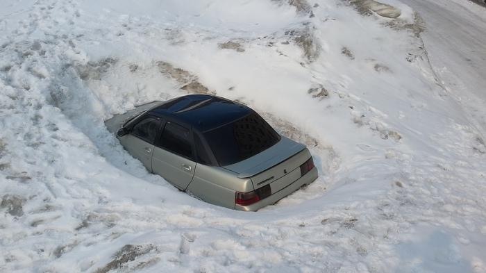 ВАЗснежник Автоваз, Коммунальщики, Уборка снега, Авто, Снег