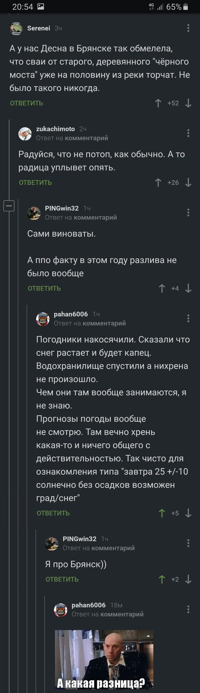А какая разница? Комментарии на Пикабу, Брянск, Длиннопост