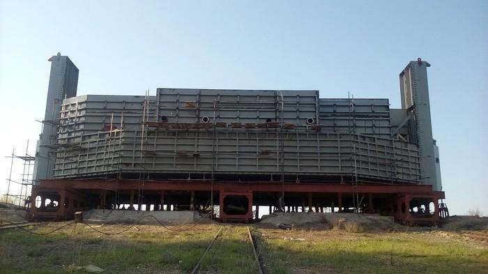 Сборка батопорта (3) Металлоконструкции, Волгоград, Длиннопост, Сварка