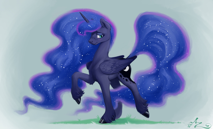 Moon Horse My Little Pony, Princess Luna, Amarynceus