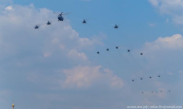 Воздушный парад над Москвой. Репетиция 7 мая Olympus, Самолет, Вертолет, Парад, Москва, Фотография, Длиннопост