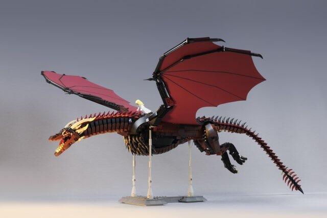 Lego Дрогон и Дени