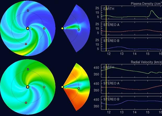 Спокойное Солнце спровоцировало мощную магнитную бурю на Земле Наука, Новости, Астрономия, Космос, Солнце, Магнитная буря