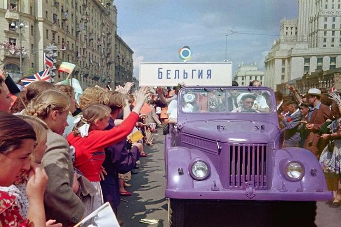 Всемирный фестиваль молодежи в Москве 1957 год СССР