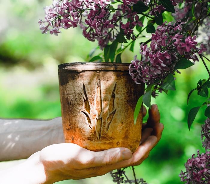 Заказ для настоящего ведьмака Цветочный горшок, Ведьмак, Геральт из Ривии, Большой куш, The Witcher 3:Wild Hunt, Керамика, Белая глина