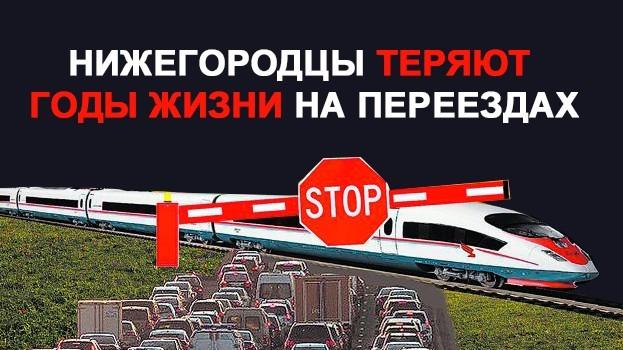 Помогите 25000 жителям Нижнего Новгорода выбраться из «железнодорожного гетто» Железнодорожный переезд, Пробки, Петиция, Нижний Новгород, Сормово