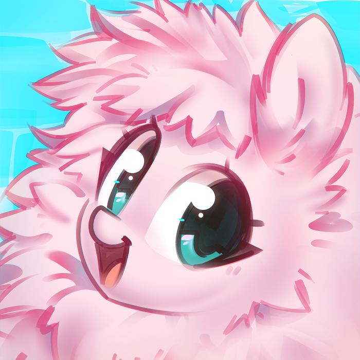 Флафл Пафф My Little Pony, Ponyart, Original Character, Fluffle Puff, Mirroredsea