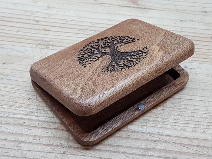 Деревянный кошелек из сапеле Дерево, Столярка, Своими руками, Кошелек, Красное дерево, ЧПУ, Сапеле, Длиннопост