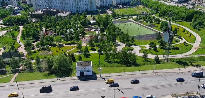 Не только в ЕКБ горят страсти за парковую зону Москва, РПЦ, Стройка, Длиннопост, Люблино, Видео, Негатив