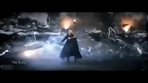 Танос слабый злодей, которого делают опаснее за счет ослабления оригинальных Мстителей. Часть 3. Железный Человек Мстители, Мстители: Финал, Танос, Тони Старк, Железный человек, Гифка, Длиннопост, Спойлер