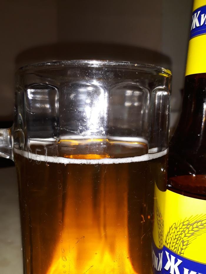 Не на..шь, не проживешь? )) Зато все по ГОСТ! Пиво, Недолив, Длиннопост