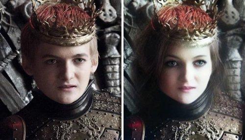 """Замена лиц персонажей """"Игры престолов"""" Игра престолов, Face swap, Длиннопост"""