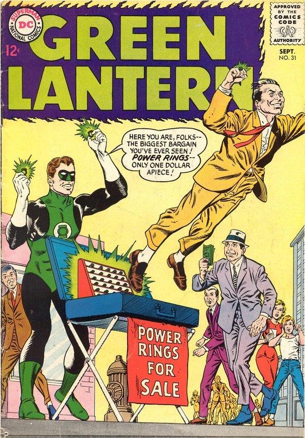 Погружение в комиксы: Green Lantern vol. 2 #31-40 Супергерои, DC Comics, Зеленый фонарь, Комиксы-Канон, Длиннопост