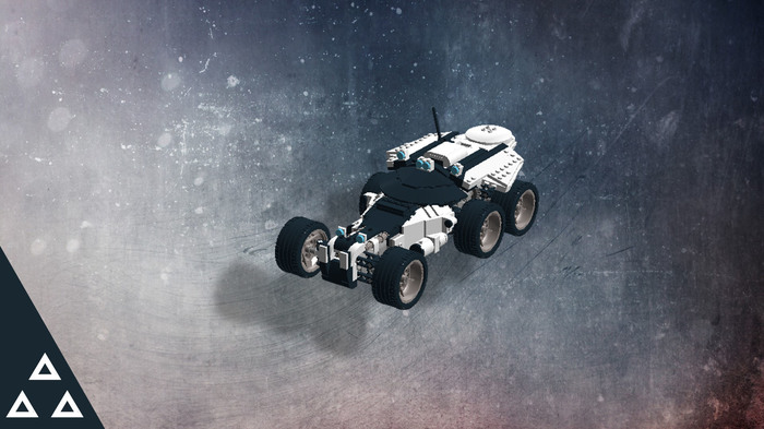 Лего Кочевник ( Lego Nomad Mass effect: Andromeda) LEGO, Mass Effect, Mass Effect:Andromeda, Игры, Конструктор, LEGO digital designer, Длиннопост