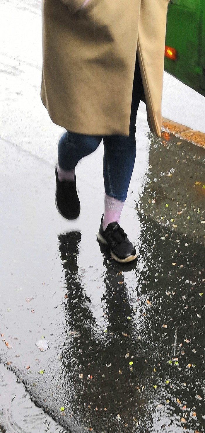 Новая мода? Носки, Непогода в Тюмени, Мода, Что то новенькое, Длиннопост