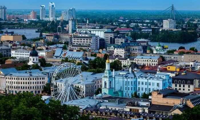 ТОП-10 городов с красивейшими видами Киев, Город, Городские каникулы, Длиннопост