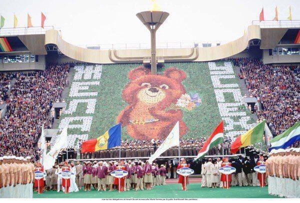 Олимпийские игры СССР, История, Олимпийские игры, Старое фото, Олимпиада-80