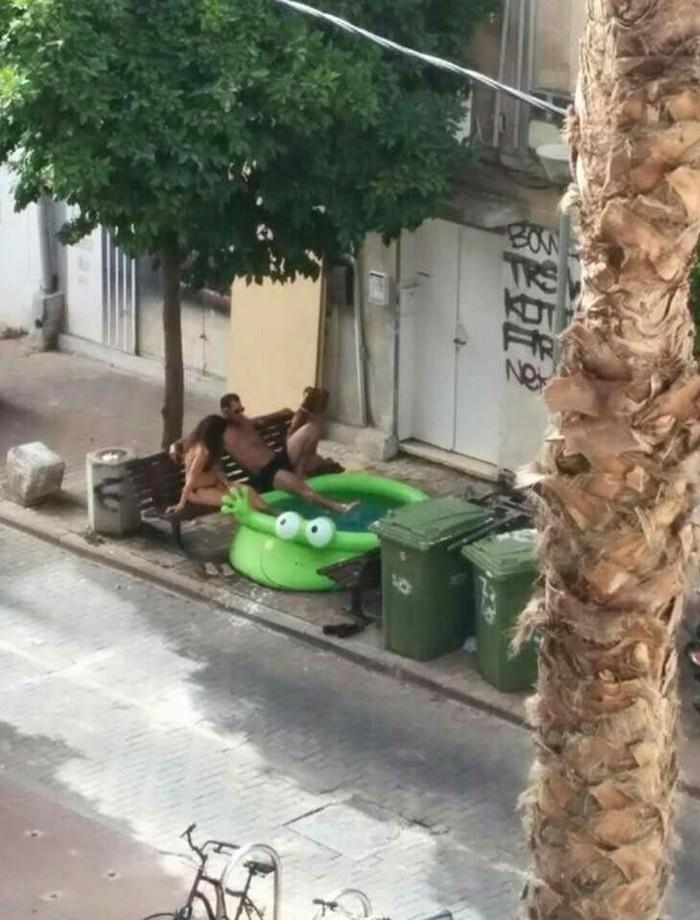 Обычное утро Тель Авива