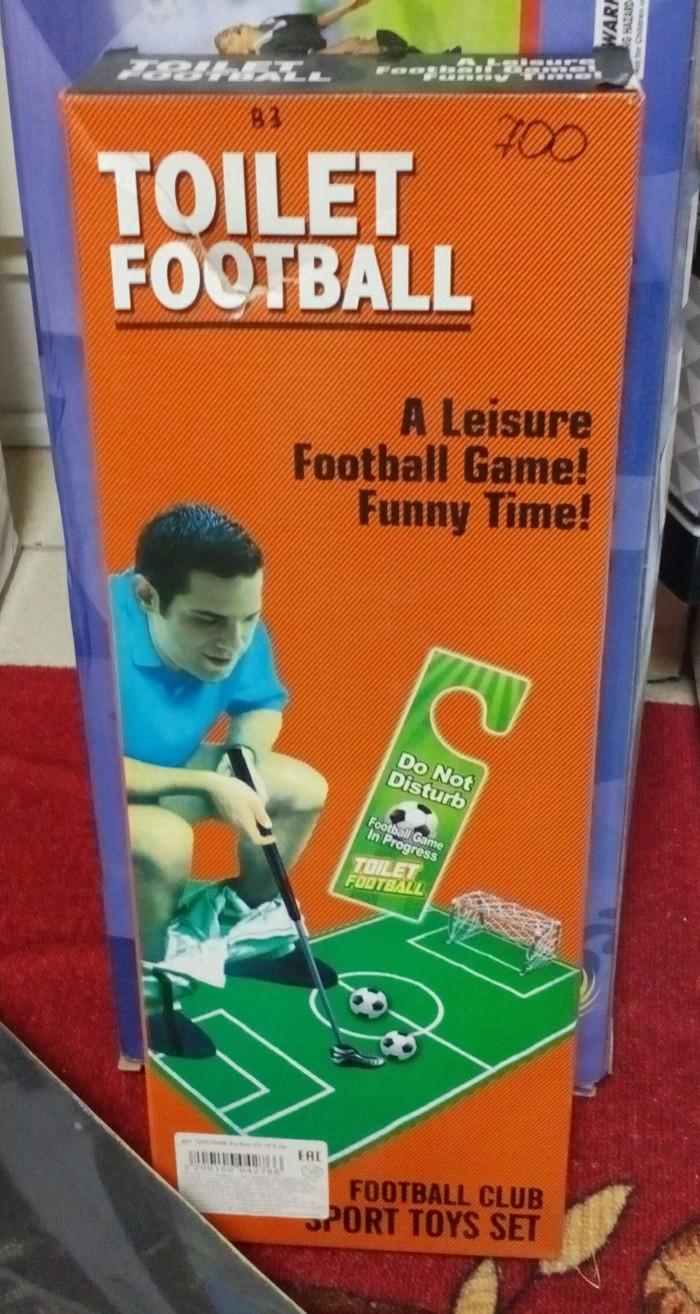 Туалетный футбол Игрушки, Футбол, Креатив