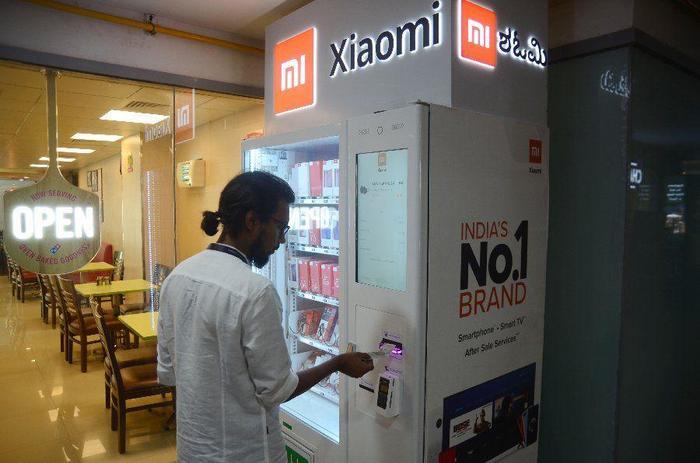 Первый вендинговый аппарат Xiaomi Индия, Xiaomi, Вендинг, Длиннопост