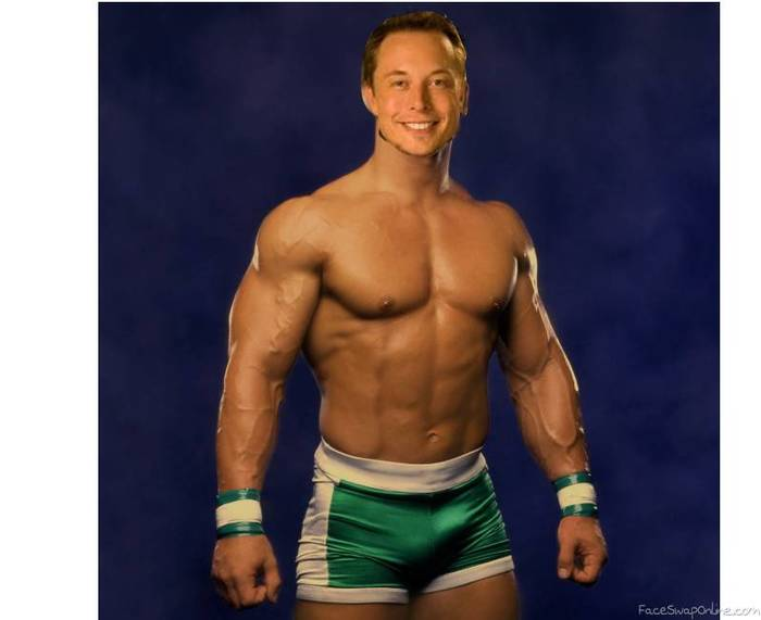 And his name is..... John Musk? Ilon Cena?
