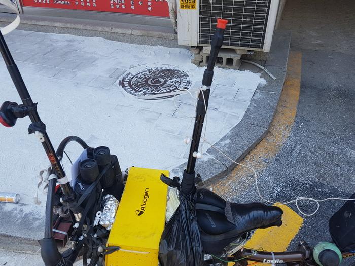 Чудо Юдо Лисапед Велосипед, Южная Корея, Длиннопост