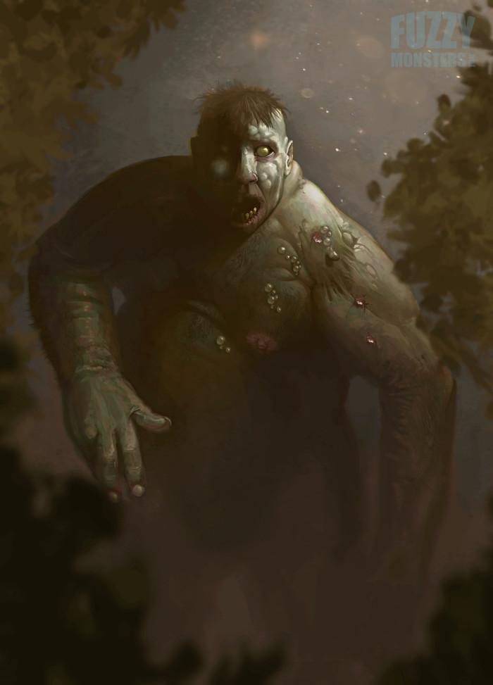 Зомби Зомби, Рисунок, Цифровой рисунок