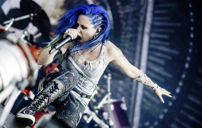 Arch Enemy: Революция начинается! Долой богов - долой господ! Металл, Рок, Arch Enemy, Melodic Death Metal, Alissa White-Gluz, Angela Gossow, Длиннопост, Видео