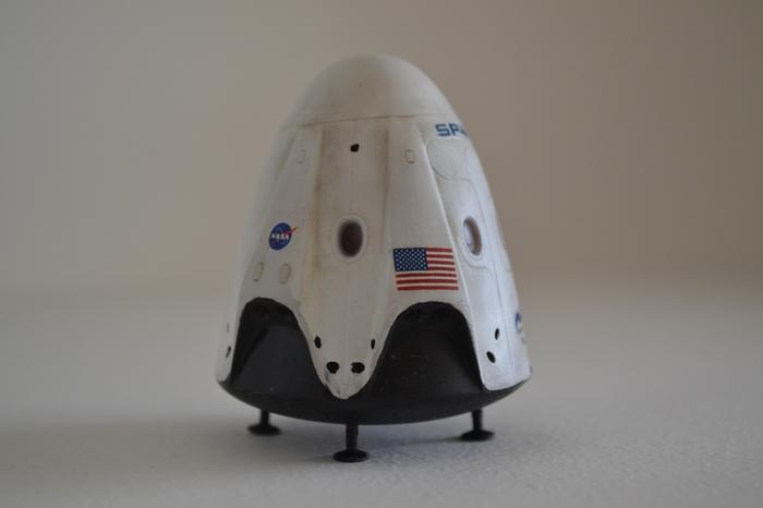 SpaceX Dragon 2 на 3d принтере Стендовый моделизм, Моделизм, Spacex, Spacex Dragon, 3D печать, Космический корабль, Длиннопост