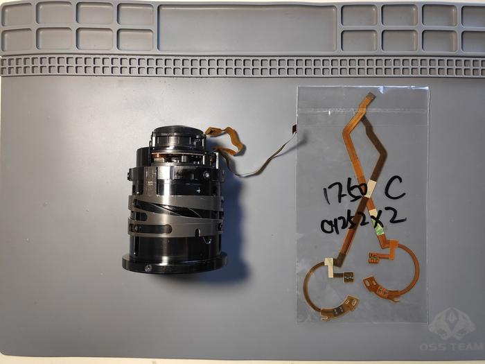 Замена шлейфа диафрагмы Tamron 17-50 2.8 (Canon) Ремонт фототехники, Tamron, Canon, Фотография, Длиннопост