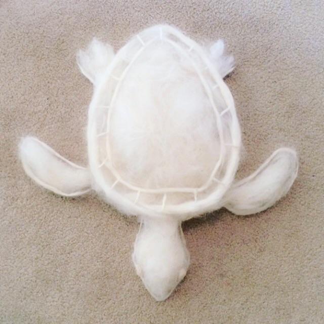 """Сибирская хаски """"сбрасывает"""" столько шерсти, что есть возможность сделать из нее морскую черепаху."""
