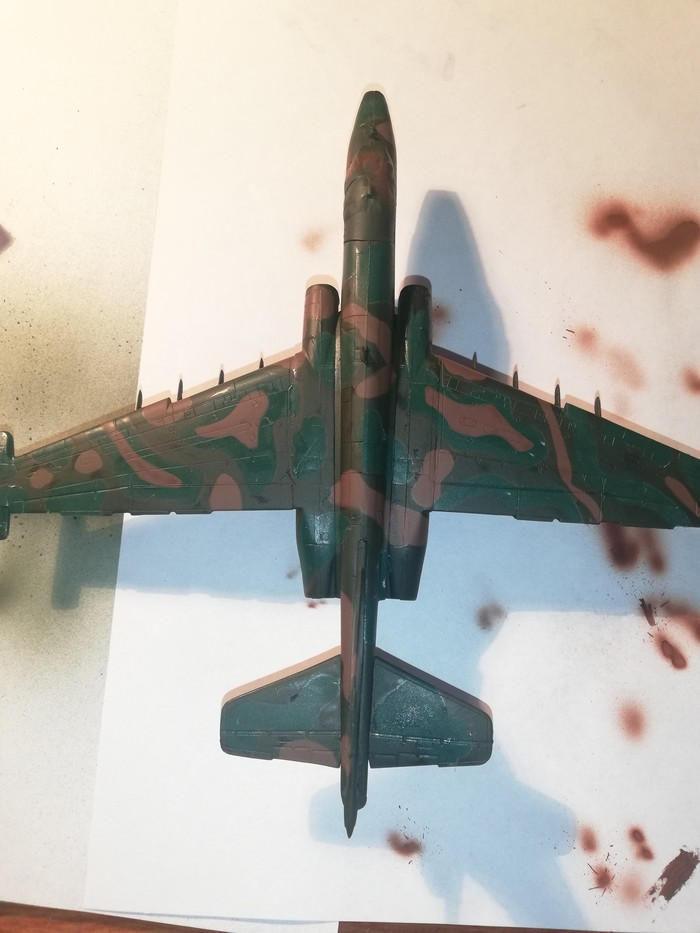 Су-25 Грач Стендовый моделизм, Моделизм, Авиация, Военная техника, Длиннопост