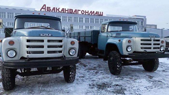 В сети выставили на продажу новые ЗИЛ-133 «крокодилы» Авто, Зил, Грузовик, Продажа авто, Машина