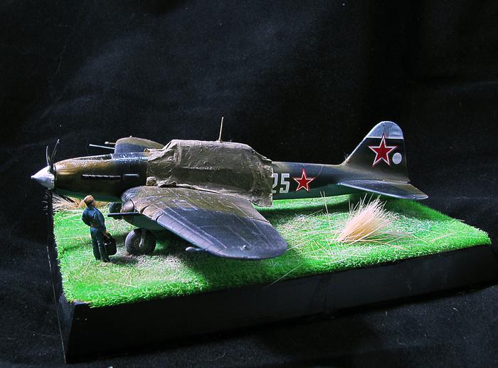 "Ил-2 ""На стоянке"" 1:72 Ил2 штурмовик, Акан, Pacific88, Zipmaket, Длиннопост"