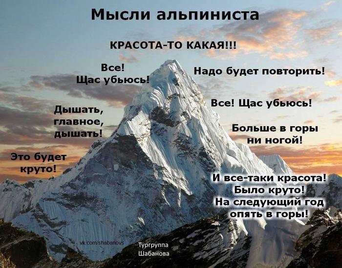 Мысли альпиниста