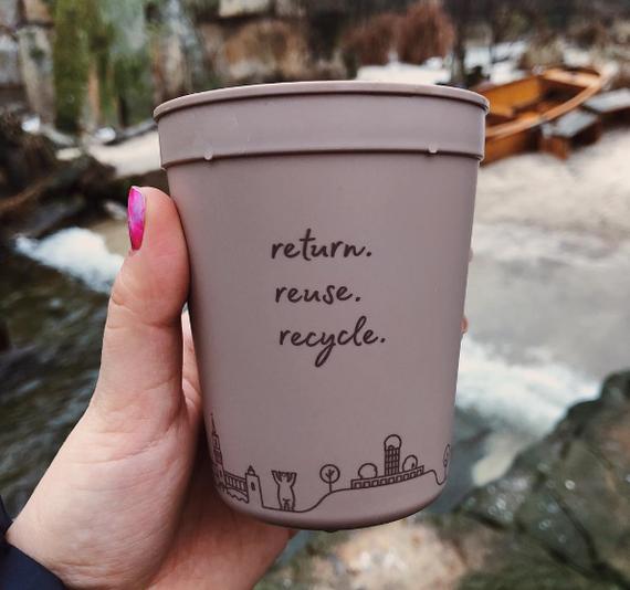 Как выпить чашку кофе и не навредить природе? Кофе, Мусор, Экология, Переработка мусора, Кофе с собой, Кофейные стаканчики, Длиннопост, Германия, Берлин