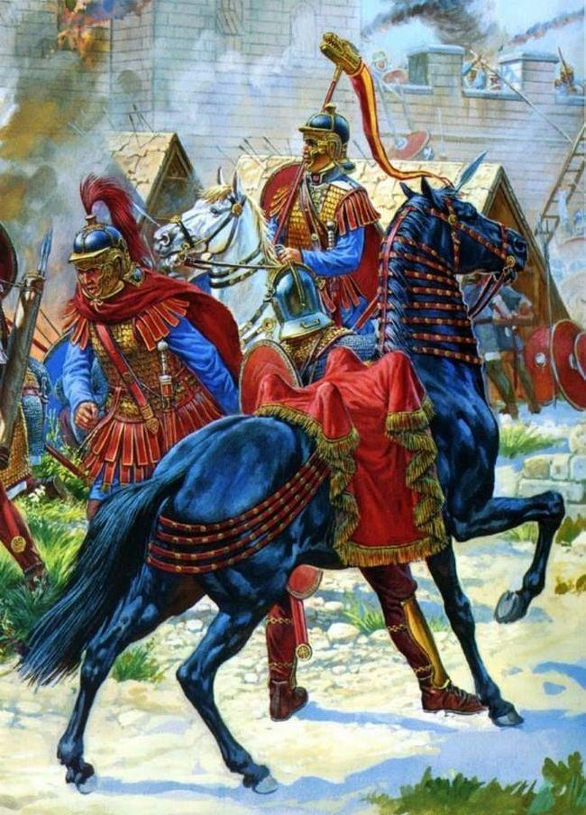 Реформы Диоклетиана. Начало раздела Римской империи. Диоклетиан, Античность, Римская империя, История, Длиннопост